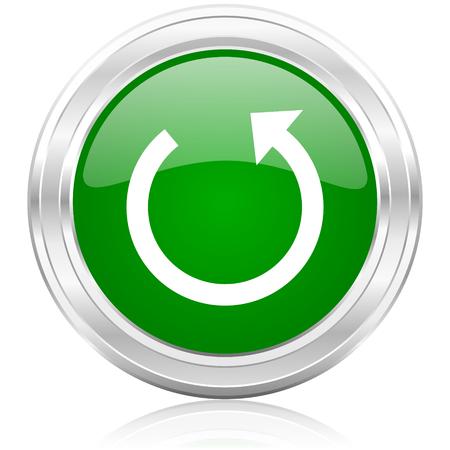 rotate icon: rotate icon  Stock Photo