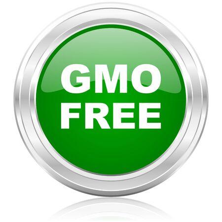 gmo: gmo free icon  Stock Photo