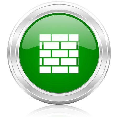 firewall icon Stock Photo - 22532072