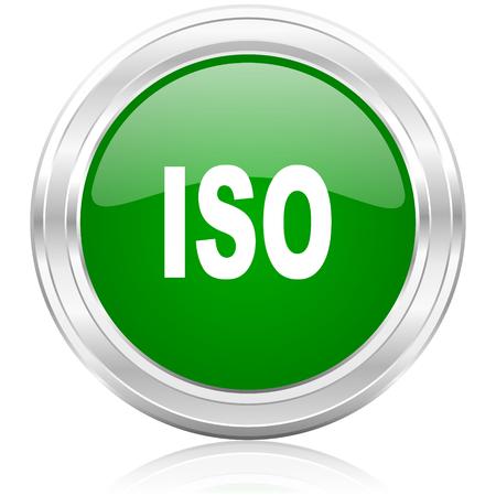 iso: iso icon  Stock Photo