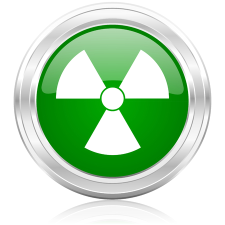 radiation icon Stock Photo - 22532127