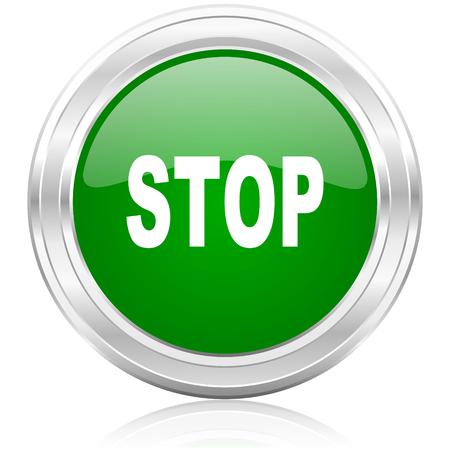 stop icon  photo