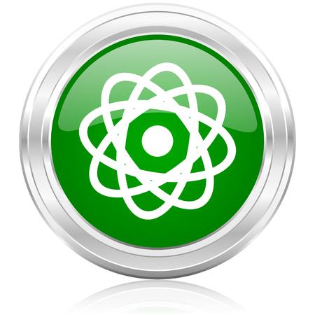 atom icon Stock Photo - 22532264