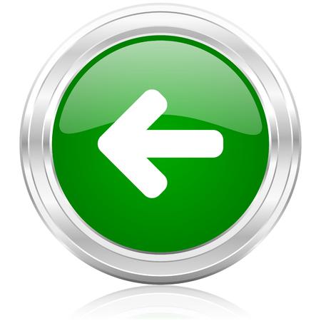 smarthone: left icon  Stock Photo