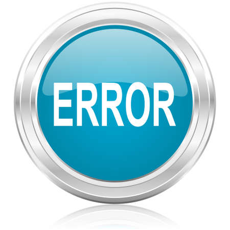 error icon Stock Photo - 22585522
