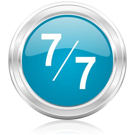 7 per 7 icon  photo