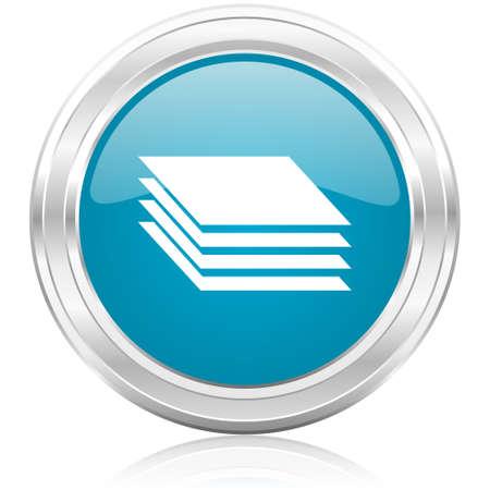 smarthone: layers icon  Stock Photo
