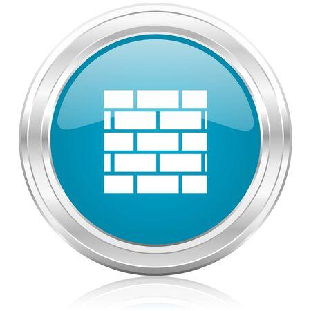 firewall icon Stock Photo - 22586610
