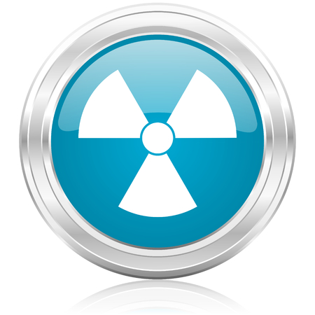 radiation icon Stock Photo - 22586662