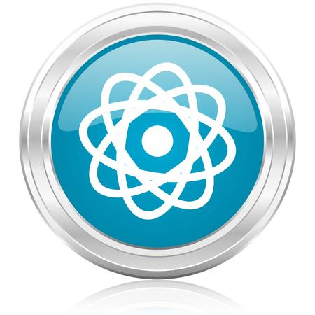 atom icon Stock Photo - 22586705