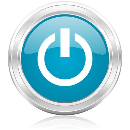 power icon Stock Photo - 22586749