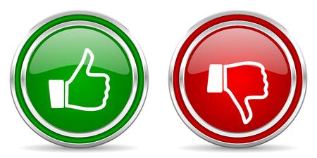 dislike: graag afkeer icoon