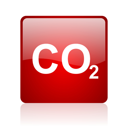 dioxide: carbon dioxide icon   Stock Photo