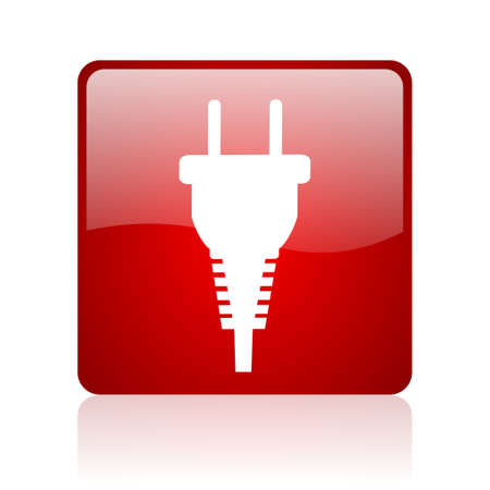 plug icon Stock Photo - 22650936