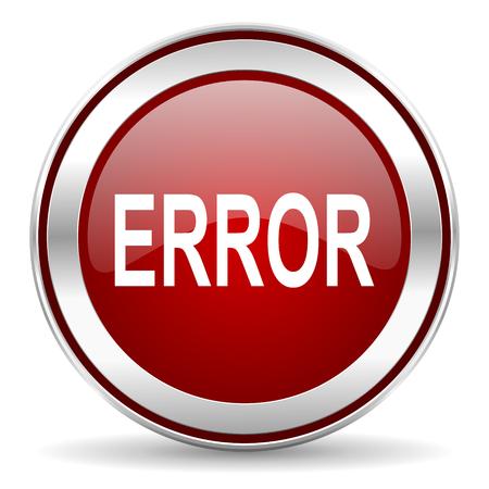 error icon Stock Photo - 22901810