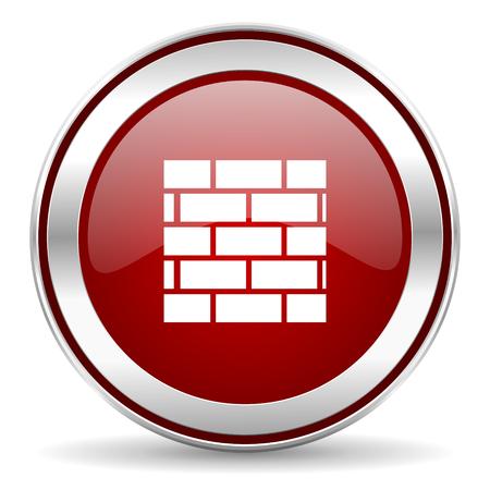 firewall icon Stock Photo - 22902837