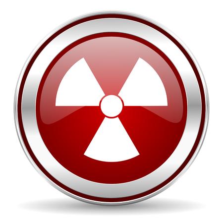 radiation icon Stock Photo - 22902943