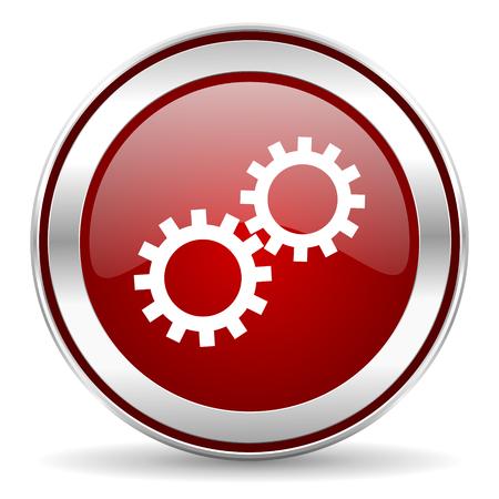 smarthone: gear icon  Stock Photo