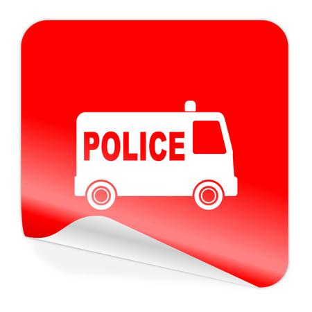 icono policia: icono de la polic?a