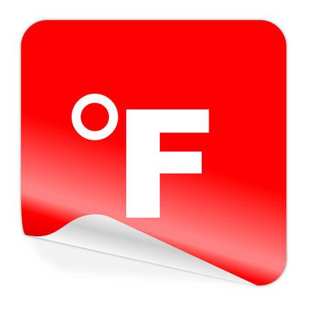 fahrenheit: fahrenheit icon  Stock Photo