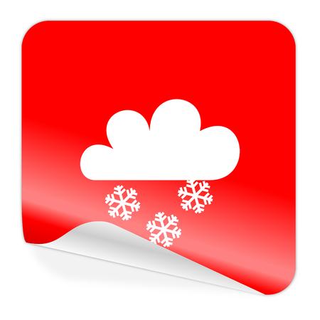 smarthone: snowing icon