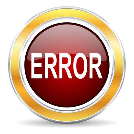 error icon Stock Photo - 23222562