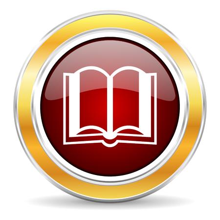 bible ouverte: livre icône