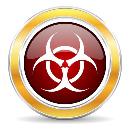 riesgo biologico: icono de riesgo biológico