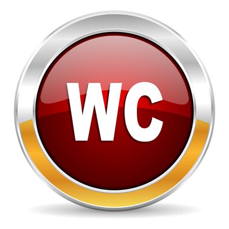 toilet icon Stock Photo - 23268212
