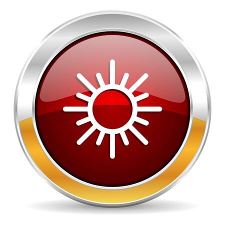 smarthone: sun icon  Stock Photo