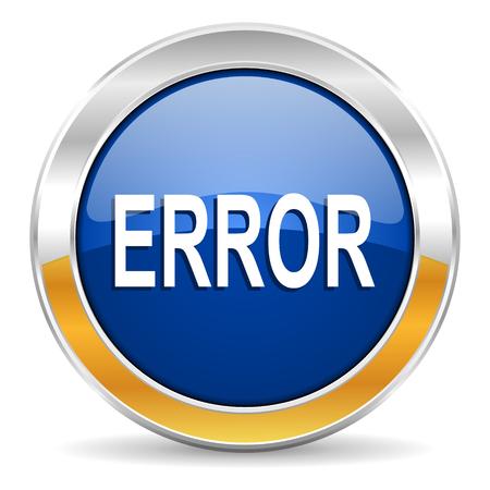 error icon Stock Photo - 23430525