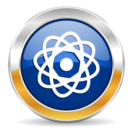 atom icon Stock Photo - 23430952