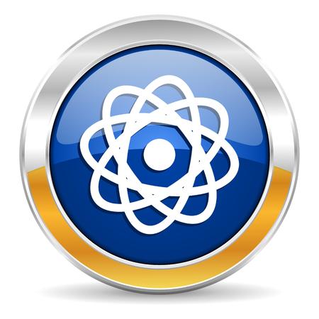 atom icon Stock Photo - 23430952