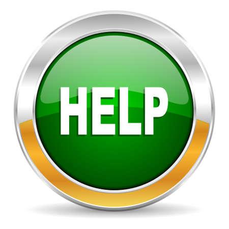 helps: help icon  Stock Photo