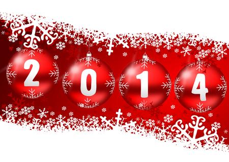 2014 nowy rok Zdjęcie Seryjne