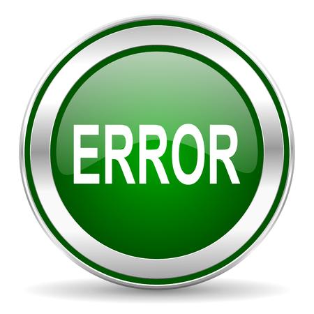 error icon Stock Photo - 23683269