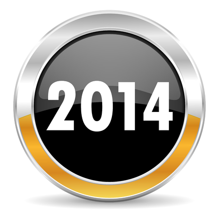 new year 2014 icon photo