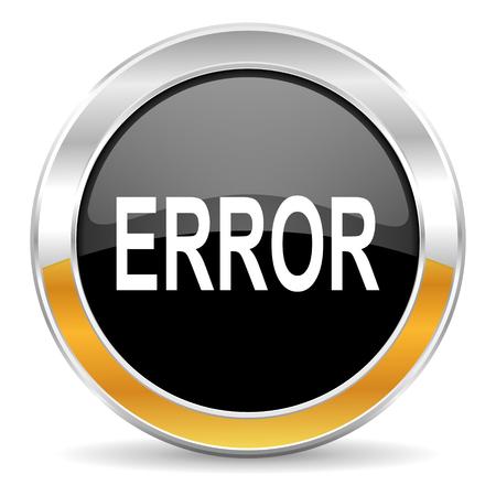 error icon Stock Photo - 23665415