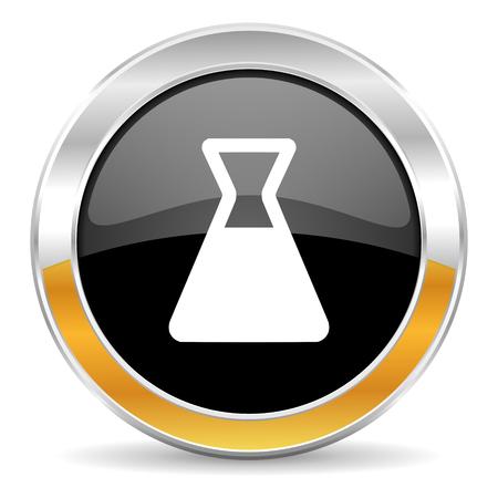 laboratory icon Stock Photo - 23683347