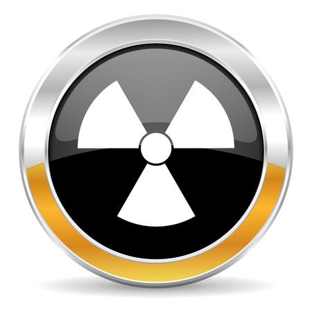radiation icon Stock Photo - 23665624