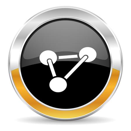 chemistry icon Stock Photo - 23665776