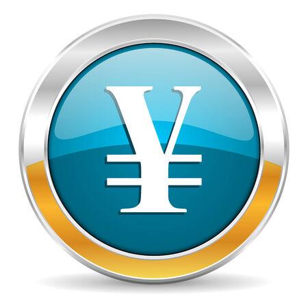 yen: yen icon  Stock Photo