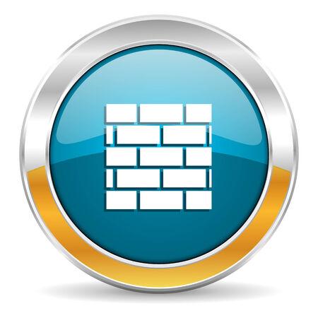 firewall icon  photo