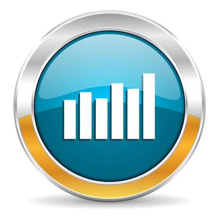 economic growth: graph icon
