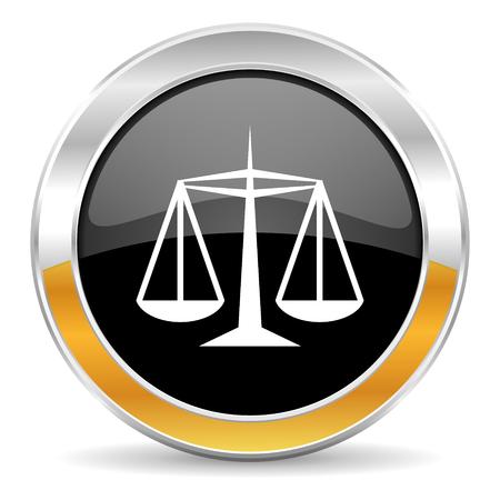 justice icon  photo