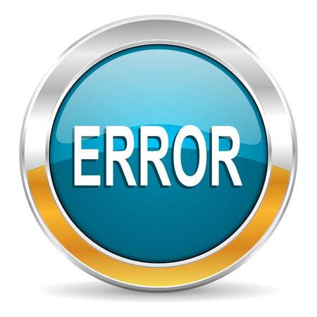 error icon Stock Photo - 23666054