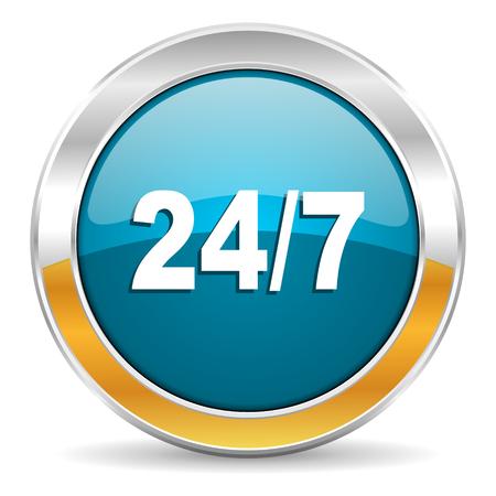 smarthone: 247 icon  Stock Photo