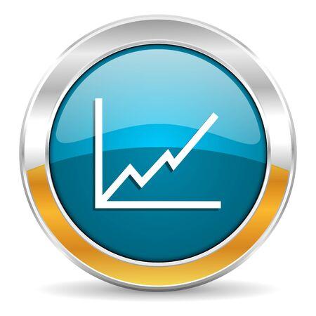 economic growth: chart icon