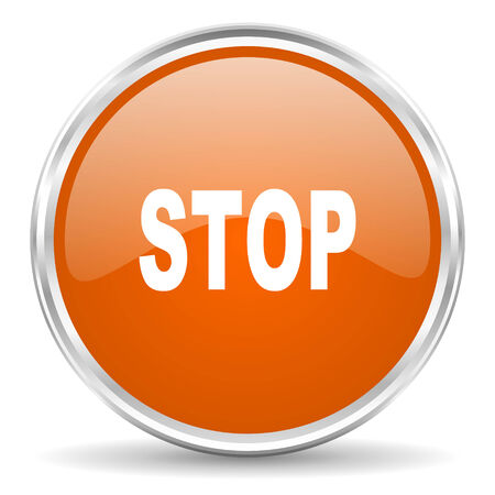 proscribed: web button Stock Photo