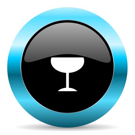 champain: web button Stock Photo